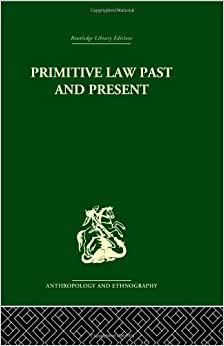 Book Primitive Law, Past and Present