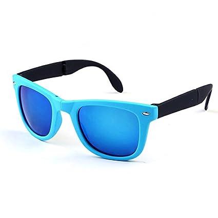 1ba574cbf18 Buy Shoppy Shop 1pc Vintage Folding Sunglasses Women Massage Health Care  Steampunk Oversize Luxury Large Mirror Lens Braces Brand Designer - blue  Online at ...