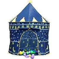Tente de jeu pour enfant Château de prince ou princesse Idéal en extérieur et en intérieur Jardin Plage Fille et Garçon