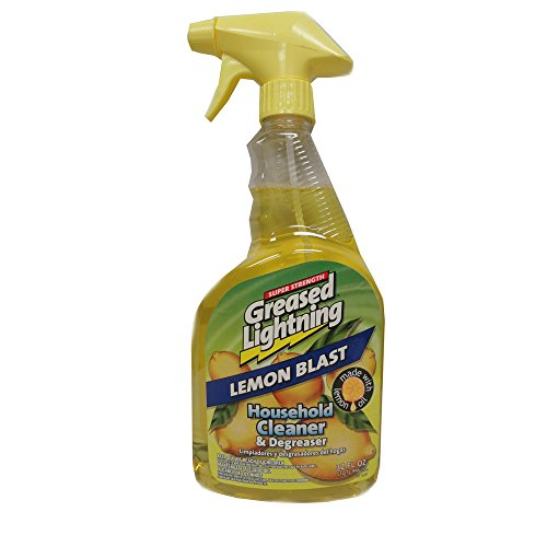 Greased Lighting Lemon Blast Household Cleaner and Degreaser 32 oz , Automotive, tool & industrial , Office maintenance, janitorial & lunchroom , Cleaning supplies , All-purpose cleaners by unbrand (Image #1)