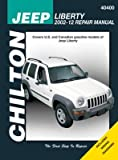 Jeep Liberty Chilton Repair Manual: 2002-12