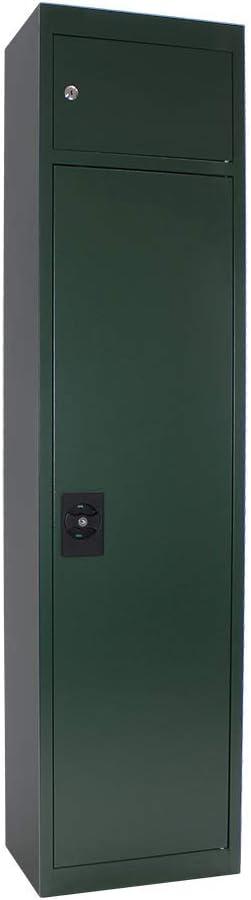 Rottner Slim High Security Gun Safe Storage Cabinet Weapons Secure Grey