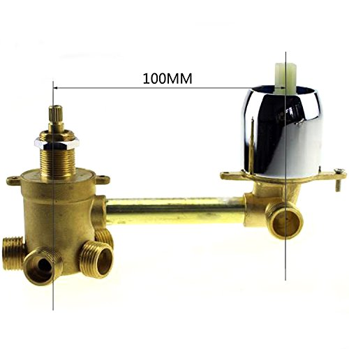 5 way water outlet bathroom shower mixer faucet, shower mixing valve by YUANQIAN