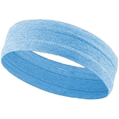 Newin Star Sweatbands Sports Headband Wristband for Men And Women Moisture Wicking Athletic Cotton Terry Cloth Sweatband for Tennis Basketball Running Gym Working Out Blue Estimated Price £2.49 -