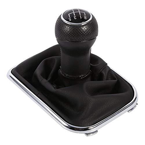 5 Speed Manual Gear Shift Knob Boot Gaitor for VW Golf 4 Bora (Golf 4 Interior)