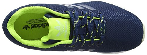 Erwachsene Top Unisex Shadow Yellow Blue adidas Solar Blau Low ZX Halo Flux X7BWqxw