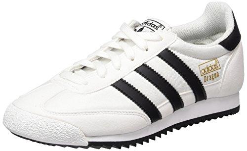 adidas Herren Dragon OG Gymnastikschuhe Weiß (Footwear White/core Black/gold Metallic)