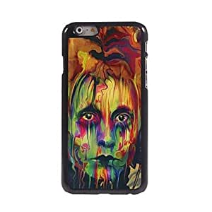 ZL The Eyes Painting Design Aluminum Hard Case for iPhone 6 Plus