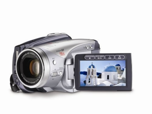 Canon HV20 3MP High Definition MiniDV Camcorder with 10x Optical Image Stabilized Zoom (Discontinued by Manufacturer) (Renewed)
