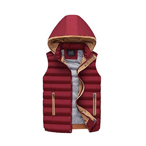 Red Stylish Wild and Winter Down DYLBD Warm Autumn Vest Men's wqzwOBg
