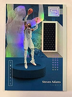half off 8b873 5f36c Amazon.com: 2018-19 Status Swatches Basketball #8 Steven ...