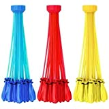 Zuru Bunch O Balloons - Instant Water Balloons - Color May Vary (3 bunches - 100 Total Water Balloons)