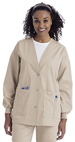 V-Neck Cardigan Warm Up Jacket - 6