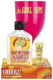 product image for Hempz Duo - Crisp Nectarine & Spritzer 6oz, Glass & Lip Balm