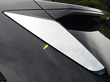 2 Pc: Stainless Steel Headlight Accent Trim, 4-Door, SUV HL57260 QAA FITS XT5 2017-2019 Cadillac