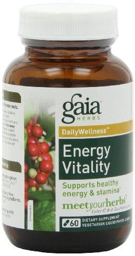 UPC 751063398503, Gaia Herbs Energy Vitality, 60 Liquid Phyto-Capsules
