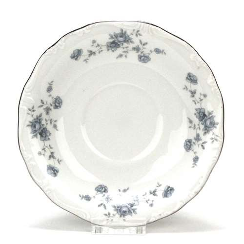 Blue Garland by Johann Haviland, China Saucer