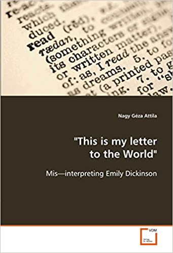 emily dickinson letter to the world