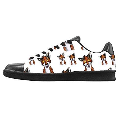 Men's Tela Di Custom Le Lacci I Dalliy In Ginnastica Sopra Fox Canvas Alto Scarpe Delle Da Shoes FEqaTZ