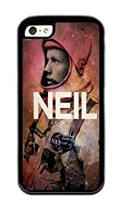 Apple Iphone 5C Case,WENJORS Personalized Neil Soft Case Protective Shell Cell Phone Cover For Apple Iphone 5C - TPU Black by icecream design