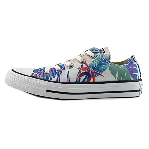 Print Tropical Chuck Low Magenta Taylor Stars Canvas Top All Fresh Trainers Mens Converse OX Cyan White qTRnx