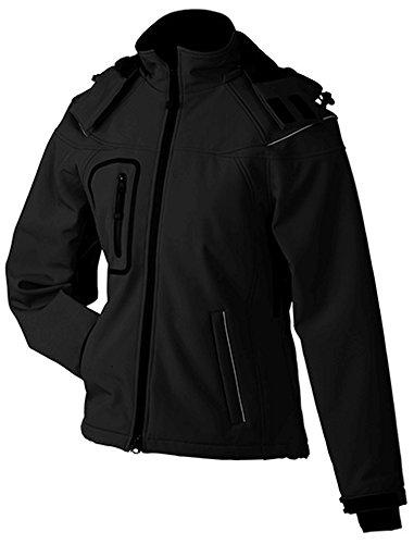 James & Nicholson Ladies' Winter Softshell Jacket L,Black [Misc.]