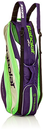 Babolat Uni Pure Strike Wimbledon Racket Holder Schlägertaschen, Lila, 70 x 50 x 10 cm, 0.4 Liter