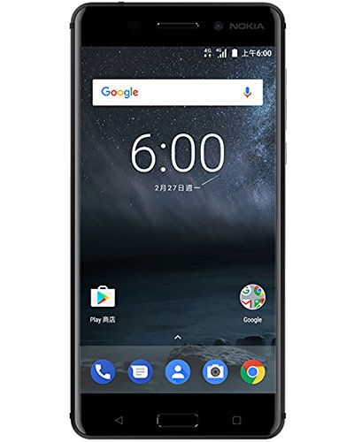 Nokia 6 TA-1000 64GB Black, Dual Sim, 5.5', GSM Unlocked International Model, No Warranty