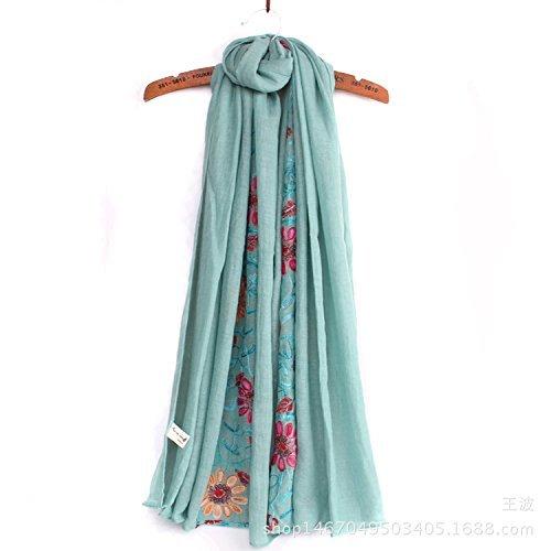 Mint Green DEED ScarfWoman Winter Scarf Thick Warm Knit Scarf Long Scarf Shawl AllMatch