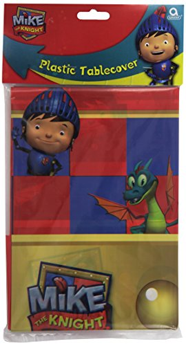 1.80x1.20m Mike The Knight Plastic Table Cover