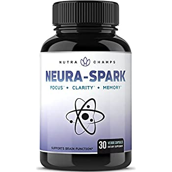 Premium Brain Supplement for Focus, Memory, Energy, & Clarity - Nootropic Brain Booster Scientifically Formulated for Optimal Mental Performance - Ginkgo Biloba, St John's Wort, DMAE, Rhodiola & More