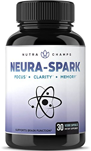 Natural Brain Supplement for Focus, Memory, Energy, & Clarity - Nootropic Brain Booster Scientifically Formulated for Optimal Mental Performance - Ginkgo Biloba, St. John's Wort, DMAE, Rhodiola & More