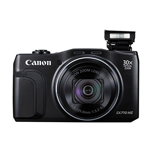 Canon PowerShot SX710 20.3MP 30x Optical Zoom Lens HS Digital Camera, Red - (Renewed)