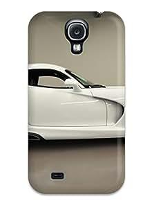 Myra Fraidin's Shop Galaxy S4 Case Cover Skin : Premium High Quality 2014 Dodge Viper White Case