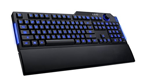 Azio Levetron L70 LED Backlit Gaming Keyboard - Black (KB501)