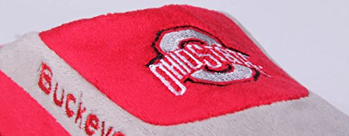 Happy Feet Mens E Womens State Concessioni Ufficiali Ncaa College Low Pro Slippers Ohio State Buckeyes