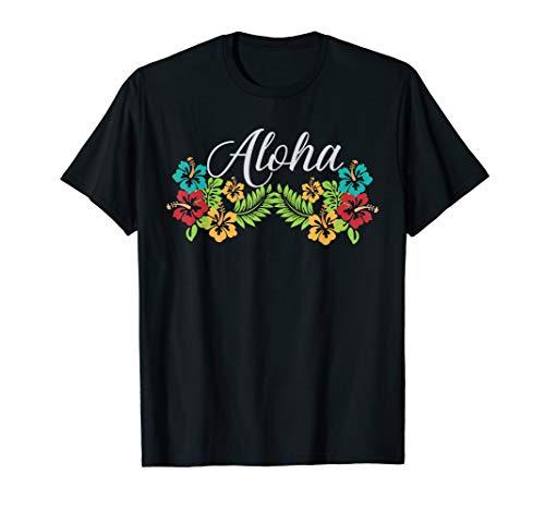 AlOHA Hawaii T-shirt from the island. Feel the Aloha Spirit