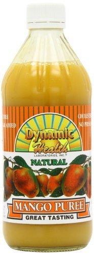 Dynamic Health Mango Puree - Dynamic Health Puree, Mango, 16-Ounce (Pack of 2) by Dynamic Health