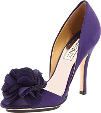 Badgley Mischka Women's Randall D'Orsay Pump,Purple,11 M US