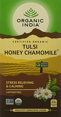 (Organic India Tulsi Tea Honey Chamomile -- 25 Tea Bags )