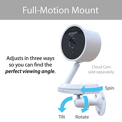 TotalMount Full-Motion Wall Mount for Amazon Cloud Cam