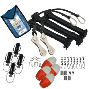 Taco Metals Marine Premium Double Rigging Kit for 2 Outriggers by Taco Metals
