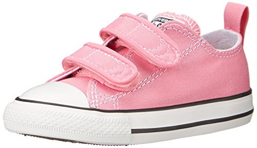 Converse Girl's Chuck Taylor All Star 2V Infant/Toddler - Pink - 7 M US Toddler (All Star Converse Kids)
