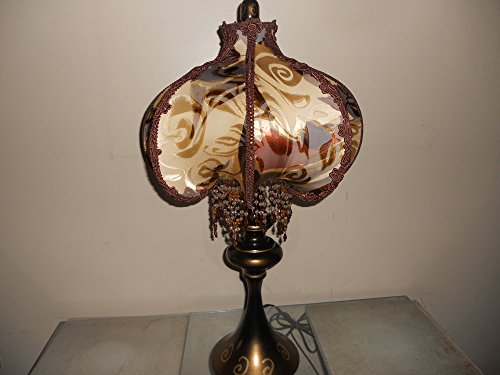 Lamp Shade, Bohemian Table Lamp, Elegant Eclectic Design, One of Kind Handmade Lampshade Design - NIGHT IN CASABLANCA
