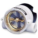 Liquid Brass 24 V dc Flow Meter; 13.8bar Pressure; 1.5-12 gal/min