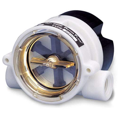 Liquid Brass 24 V dc Flow Meter; 13.8bar Pressure; 1.5-12 gal/min by GEMS-SENSORS-INC (Image #1)