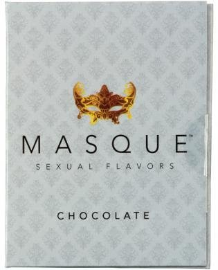 Masque Chocolate Sexual Flavors Singles Wallet - Total of 6 Strips by Masque International LLC