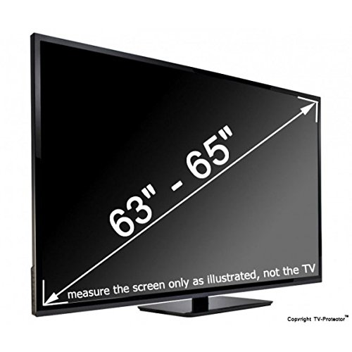 63 65 inch tv screen protector cover shield protection flat plasma led lcd hdtv ebay. Black Bedroom Furniture Sets. Home Design Ideas