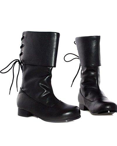 Ellie Shoes Boys Sparrow (Black) Child Boots Black Large