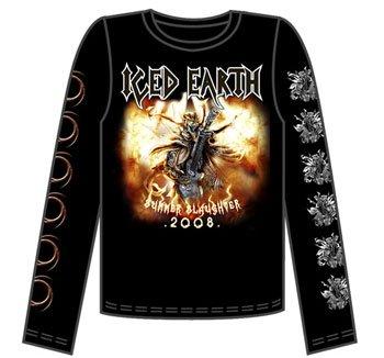 Iced Earth - Summer Slaughter Guys Long Sleeve Tee In Black 8a95d2a6e4